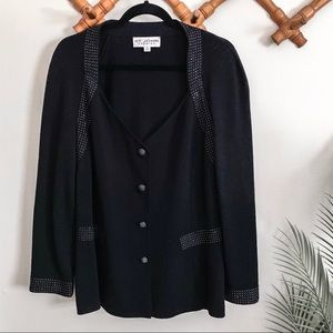 St John | Evening Rhinestone Cardigan